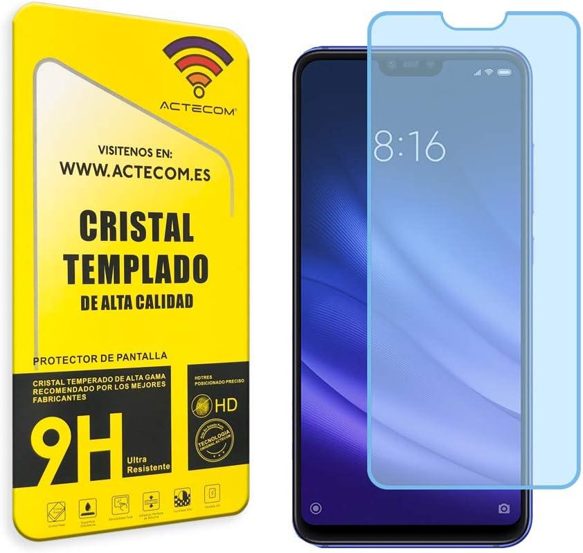 actecom® Protector Pantalla Cristal Templado para XIAOMI Mi8 Lite con Caja