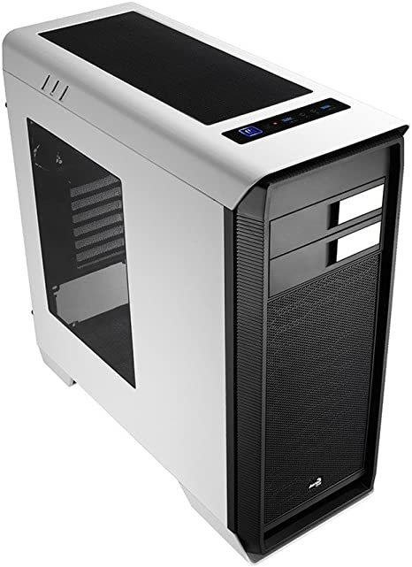 Aerocool Aero-1000 White Case - Caja de Ordenador (Midi-Tower, PC, 2X 120 mm, 1x 120 mm, Fondo, ATX, Micro-ATX, Mini-ITX): Amazon.es: Informática