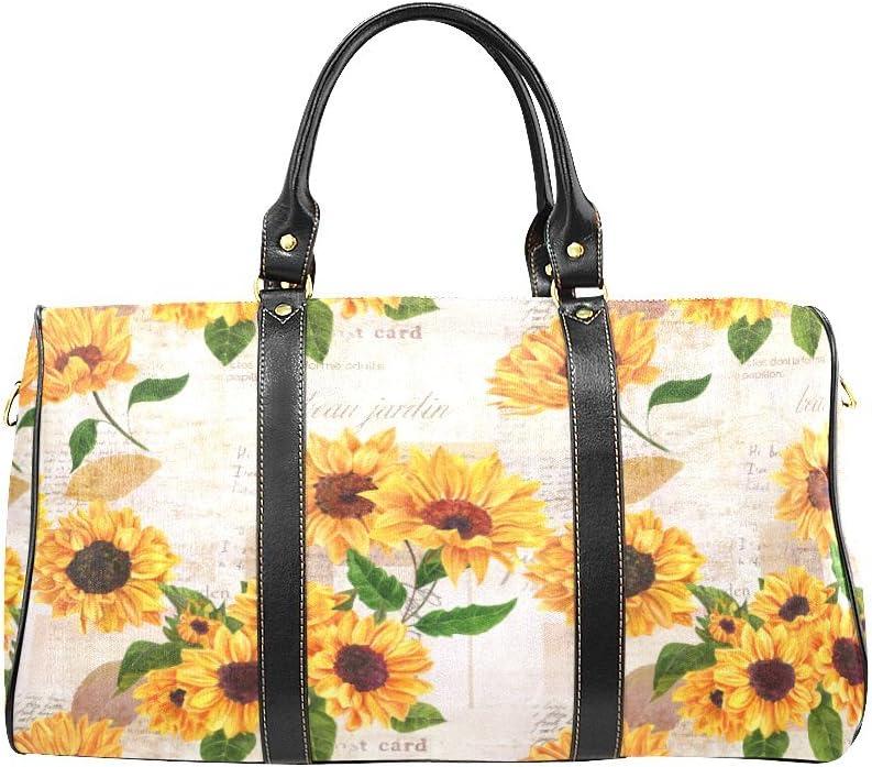 Sunflower Weekender Bag
