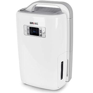 Duronic DH20 Deshumidificador Eléctrico Silencioso de 20 litros con 3 Prefunciones para Combatir Humedad, Moho y Condensación ...: Amazon.es: Hogar