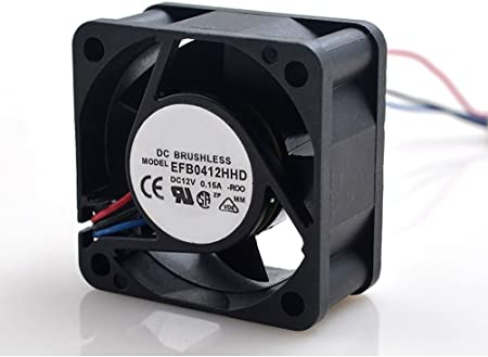 MEOLY Meglev Fan Cooling Fan EFB0412HHD DC Brushless Fan 12V 0.15A 3 Wire Connector Graphics Card Fan 404020 MM