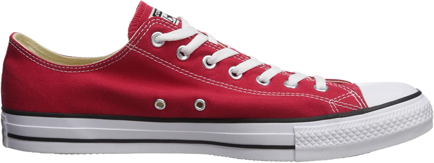 Converse Chuck Taylor All Star Adulte Mono Leather Ox, Basket Mixte Red