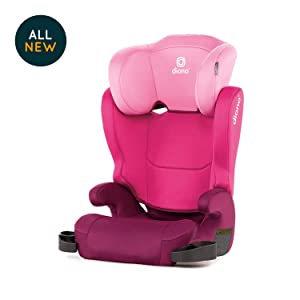 Diono Cambria 2 High Back and Backless Booster Seat