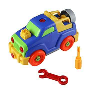take apart toys race car jeep toy build your own car assembly puzzle toy great gift