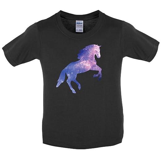 Amazon Com Dressdown Galaxy Horse Childrens Kids T Shirt 3 14