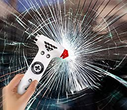 Standard Survival Pro EscapeHammer (TM) Window Breaker & Seatbelt Cutter Vehicle Escape Tool. Guaranteed to Safely Shatter All Car, Truck & SUV Windows! (Two-Pack)