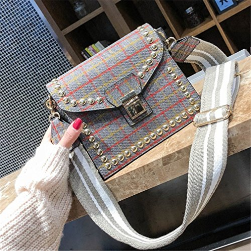 Bags For Messenger Bags Women Crossbody Bags Handbags Women Grey Women Shoulder Chain zxwqHw8