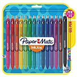 Image of Paper Mate InkJoy Gel Retractable Pen, 0.7mm, Ink, Pack of 14, Assorted (1951636)