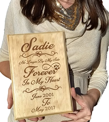 Pet Memorial Gift plaque | Custom Personalized Engraved for Dog Or Cat | Made In USA