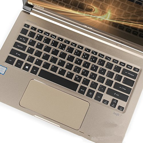 Amazon.com: Leze - Ultra Thin Soft TPU Keyboard Protector Skin Cover for Acer Swift 7, Spin 7 Full HD Laptop US Layout: Computers & Accessories