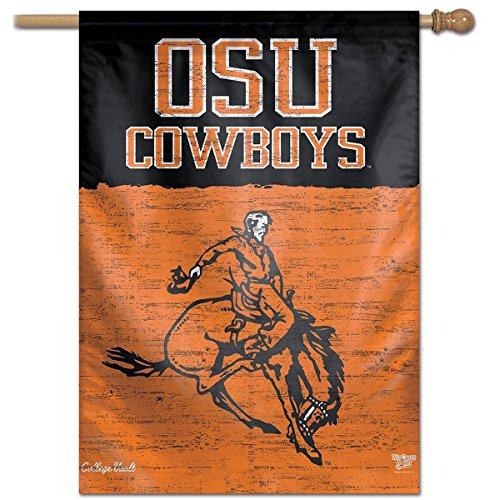 WinCraft Oklahoma State Cowboys Vault Throwback Retro Vintage House Flag