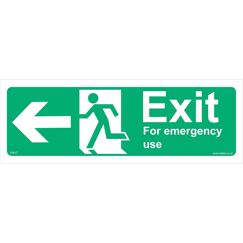 Seguridad contra incendios señal FS017 salida para uso de ...