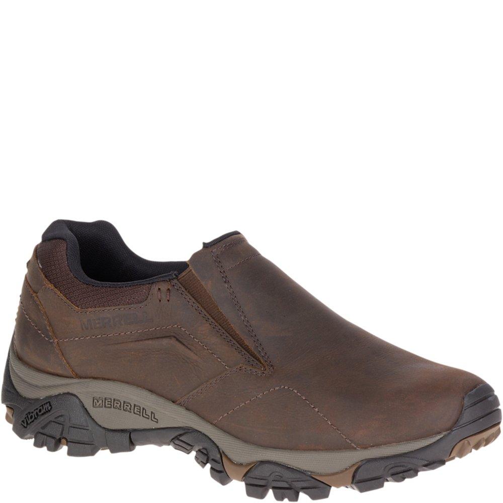 Merrell Men's Moab Adventure MOC Hiking Shoe, Dark Earth, 11 M US by Merrell