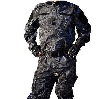 osdream exterior negro Python patrón táctico traje, traje de ...