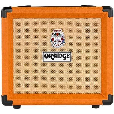 orange-electric-guitar-power-amplifier