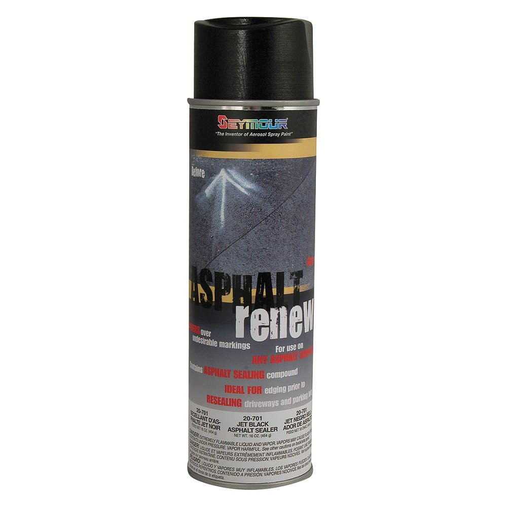 Asphalt Coating, Oil, Black, 20 oz. by Seymour of Sycamore