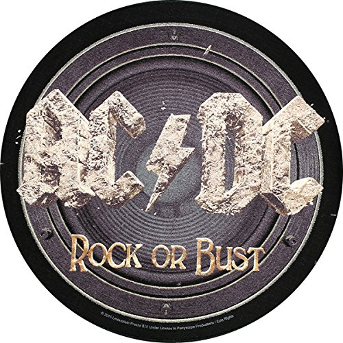 Bust dc Ac o Écusson Rock Patch Badges Dos Back wqdFqT