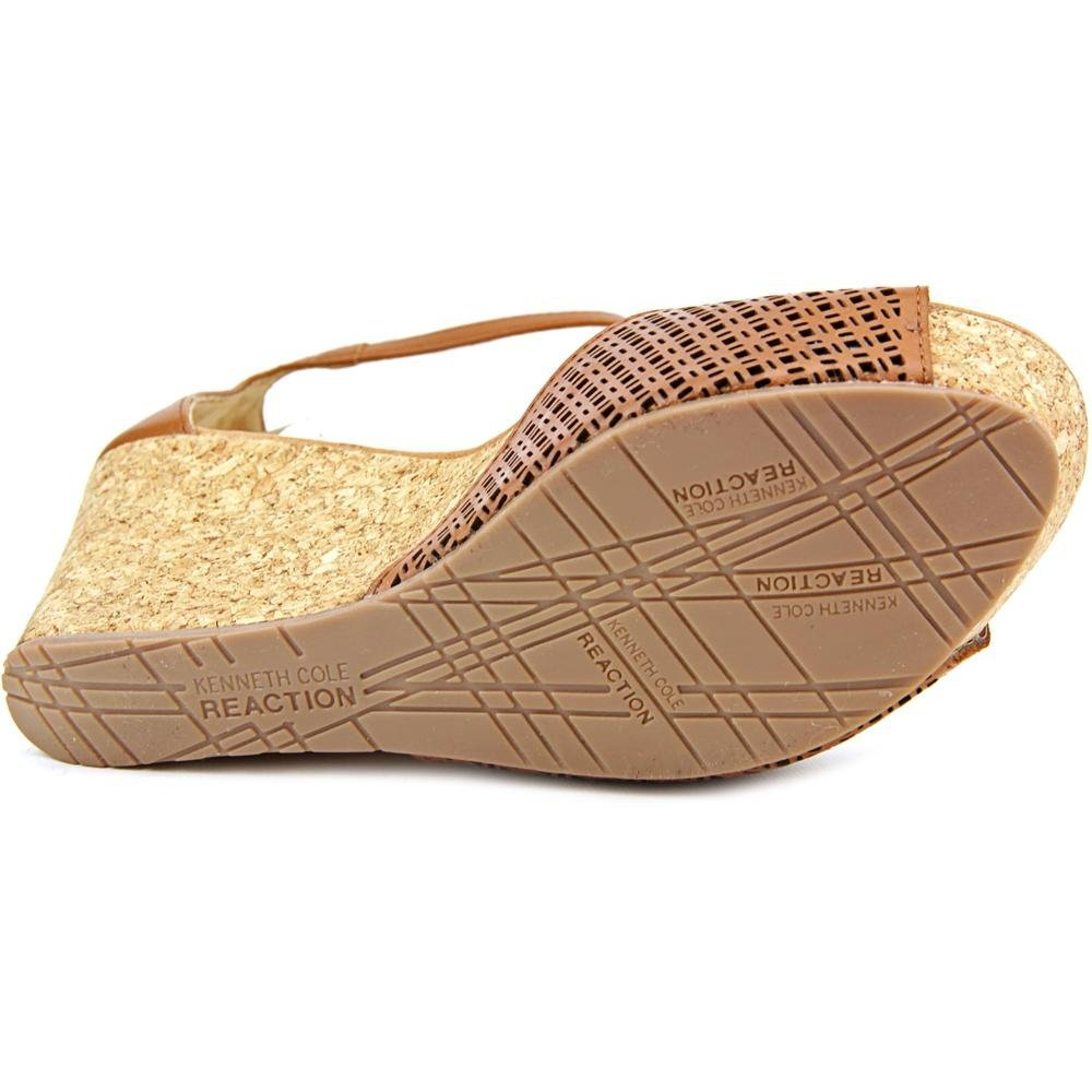 bae0311b60d Kenneth Cole REACTION Sole Ness Perforated Wedge Ankle Strap Sandals ...