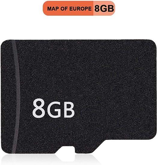 Hanbaili Mapa de navegación GPS de Europa, Tarjeta de Memoria de Mapa de 8GB para MP5 / Reproductor de DVD para Coche/navegador GPS: Amazon.es: Hogar