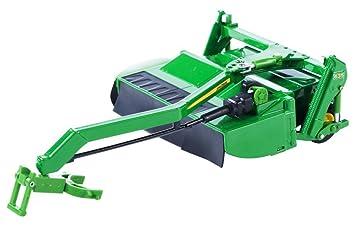 Britains - John Deere segadora acondicionadora, Color Verde, Amarillo y Negro (Tomy 43003)
