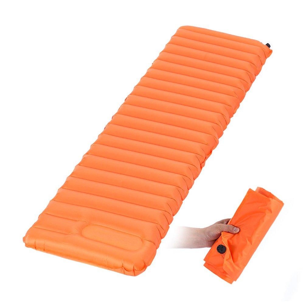 trietree Inflatable Sleeping Pad、ウルトラライトポータブル手動でを押しインフレータブルDamp ProofマットインフレータブルSleep Pad forバックパッキングキャンプハイキング旅行 B07BTV1DGJ