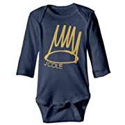 Baby Onesie J Cole Hiphop Logo Infant Coveralls Long Sleeve
