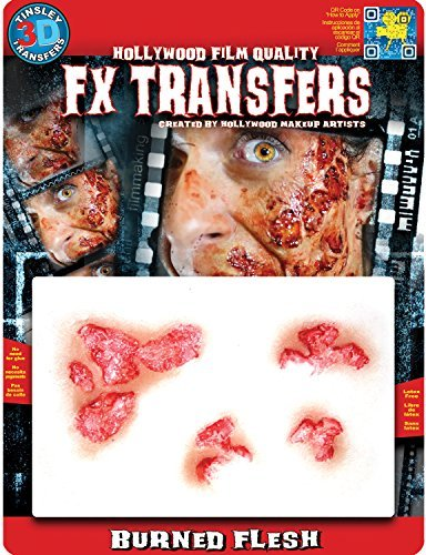 Tinsley Transfers Burned Flesh Makeup FX Transfers (4Piece)]()