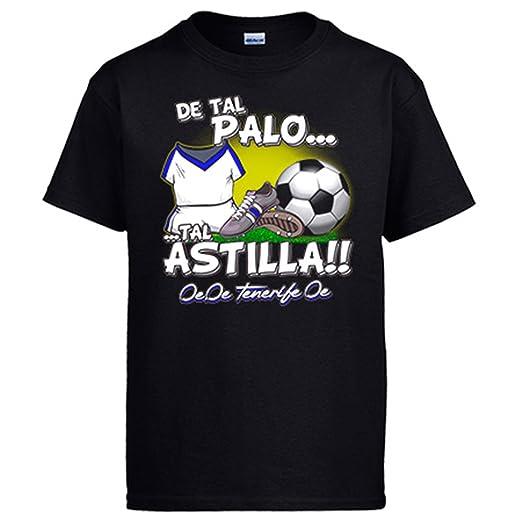 Camiseta de tal palo tal astilla Tenerife fútbol: Amazon.es: Ropa y accesorios