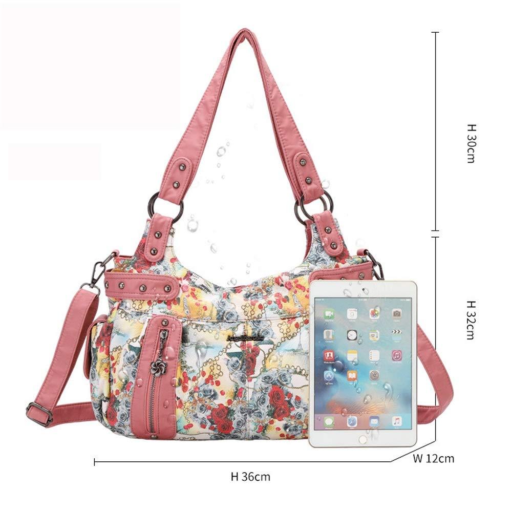 Ysswjzz Väskor för kvinnor, vardaglig kroppsväska, resväska messengerhandväska för shopping vandring daglig användning en