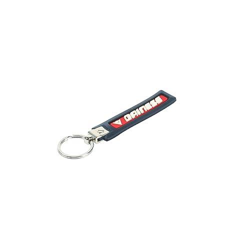Dainese No-Scratch Porte-clés, Noir/Rouge/Blanc, Taille N