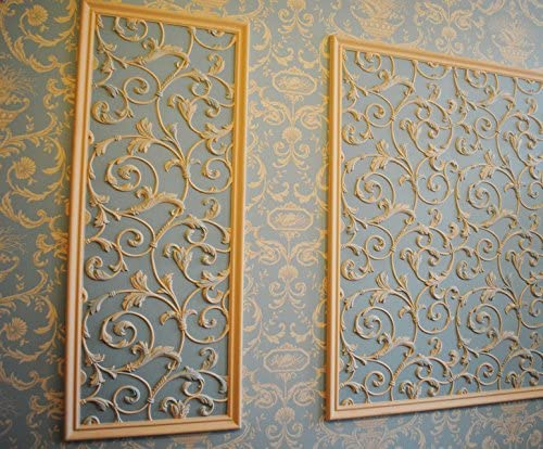 Form Decorative wall Art Decor ABS Plastic molds for 3D  panels Plaster Gypsum