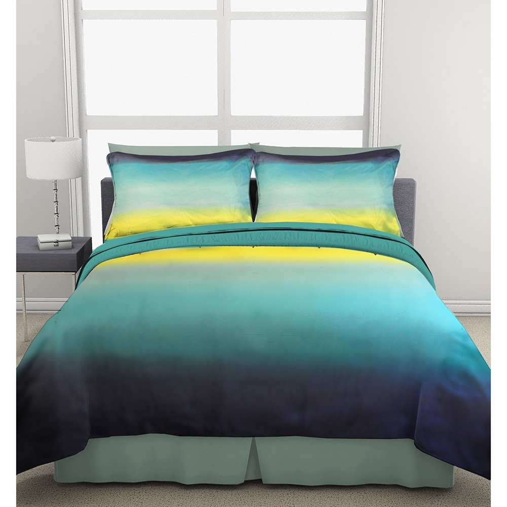 bedroom blue teal comforter bedding green set black queen color brown and sets