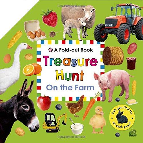 Treasure Hunt: On the Farm: A Fold-Out Book