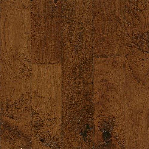 Handscraped Wood Flooring - Bruce Hardwood Floors EEL5201A Frontier Hand-Scraped Wide Plank Engineered Hardwood Flooring, Tahoe
