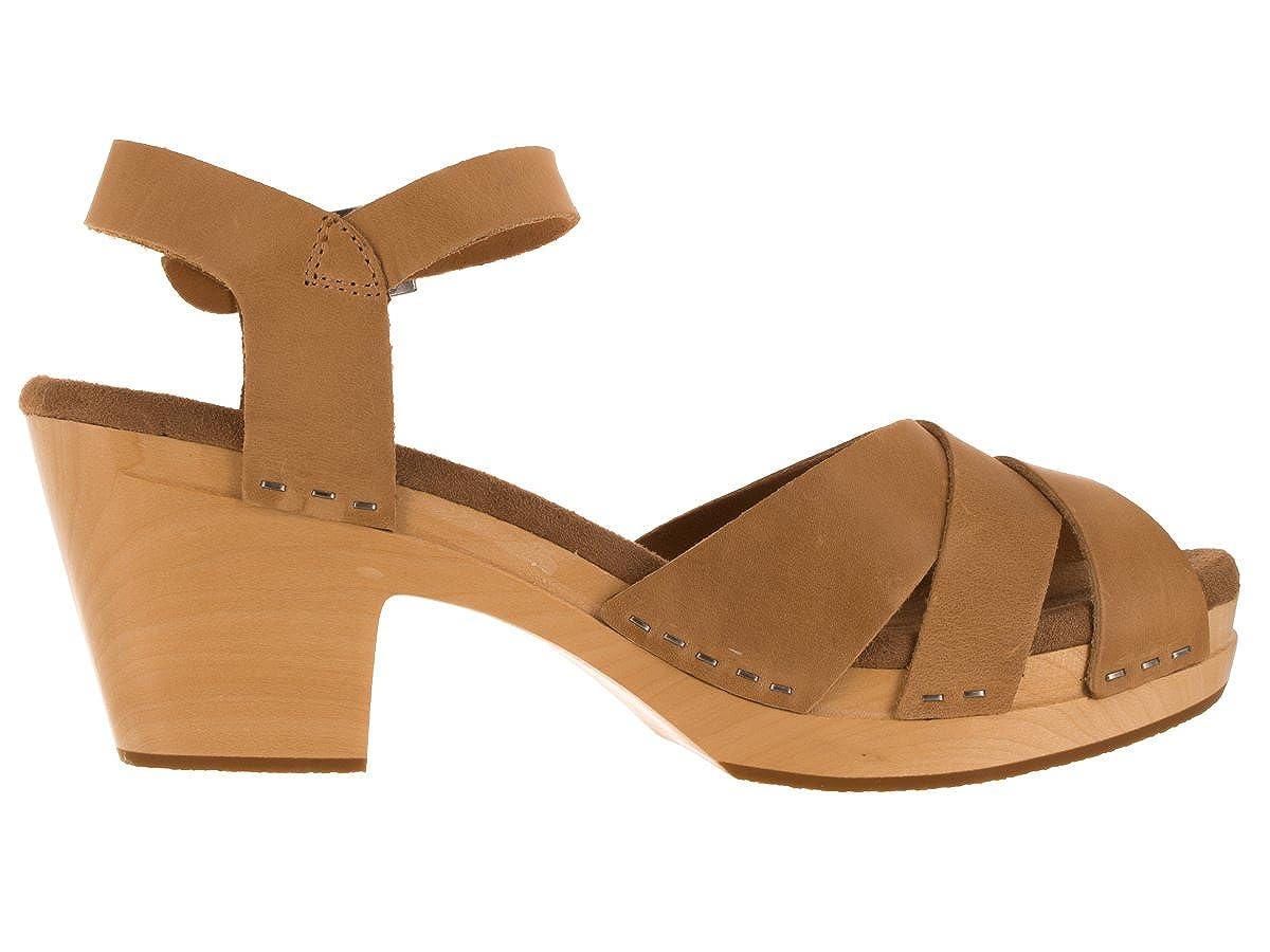 2990691dfe6c66 Toms Sandstorm Leather Beatrix Clog Sandals 10007984 (Size  5.5)   Amazon.ca  Shoes   Handbags