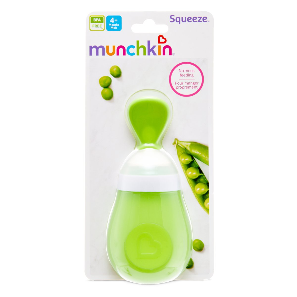 Munchkin SQUEEZE SPOON (Colors May Vary) 15807