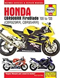 Honda CBR900RR FireBlade '00 - '03: (CBR929RR, CBR954RR) (Haynes Service & Repair Manual) by Editors of Haynes Manuals (2015-07-01)