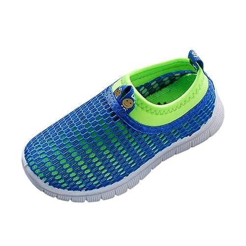 Jungen Für Sandalen Wasserschuhe Badeschuhe Outdoorsandalen Mädchen Schuhe Sommer Kinder Atmungsaktiv Geschlossene Mesh Fnkdor Strand 4q35LcRjSA