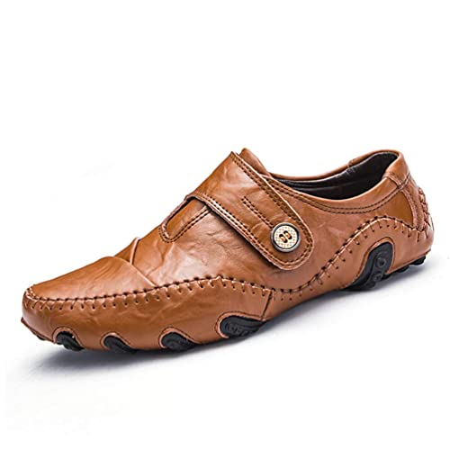 Casual Zapatos Hombres Mocasines Deslizamiento Plano En Zapatos Hombres Mocasines Zapatillas Calzado Zapatos De Vestir Masculino Zapatos De ConduccióN: ...