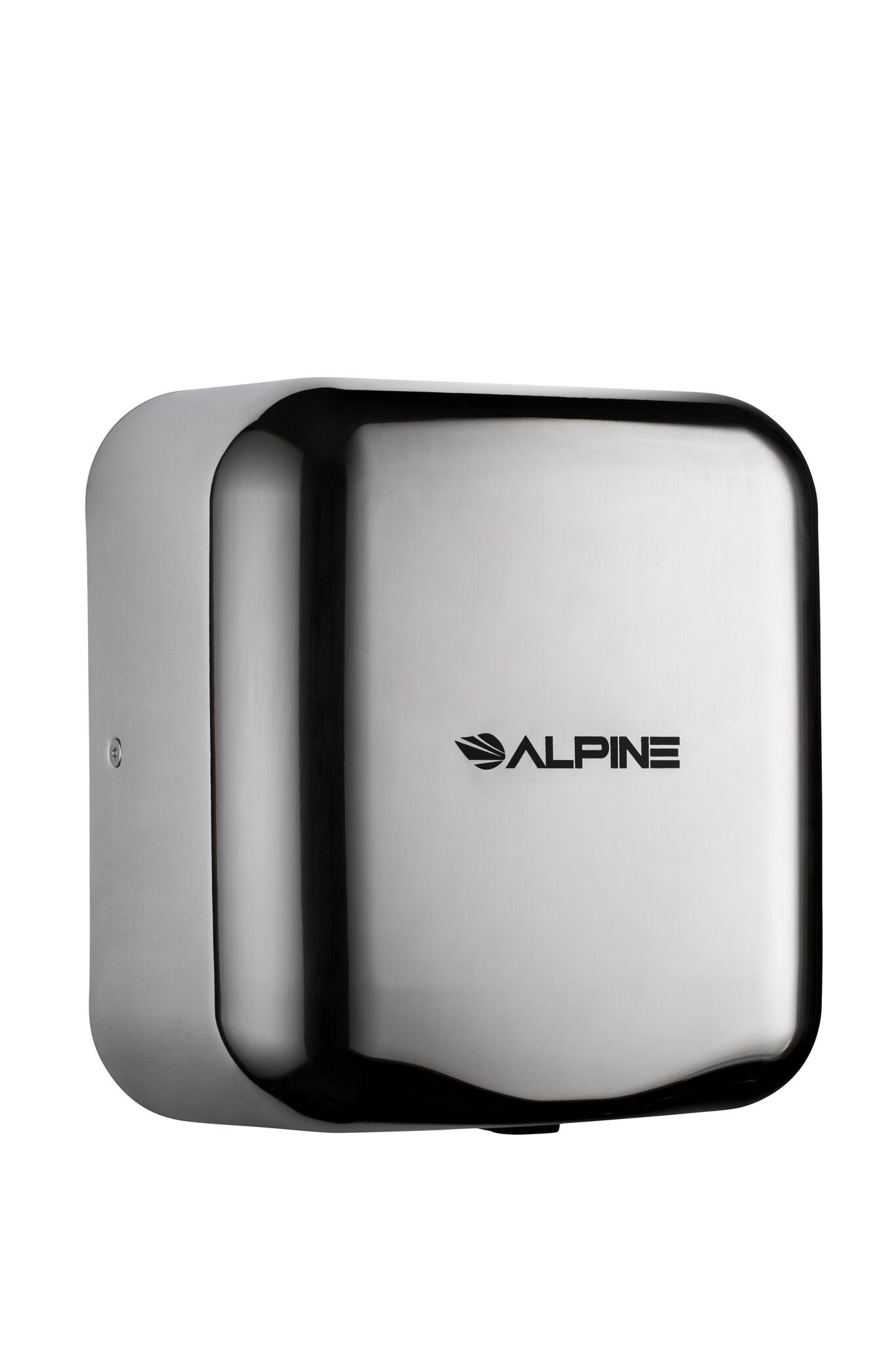 Alpine Hemlock Heavy Duty, Commercial, 1800 Watts, 220-240 Volts, High Speed, Stainless Steel, Automatic Hot Hand Dryer - Stainless Steel Brushed