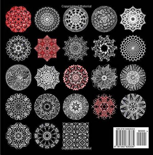 Coloriage Magique Mandala En Ligne.Livre De Coloriage Adulte Magic Night Mandala 5 Livre De