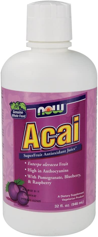 Now Foods Acai – 32 oz. 2 Pack