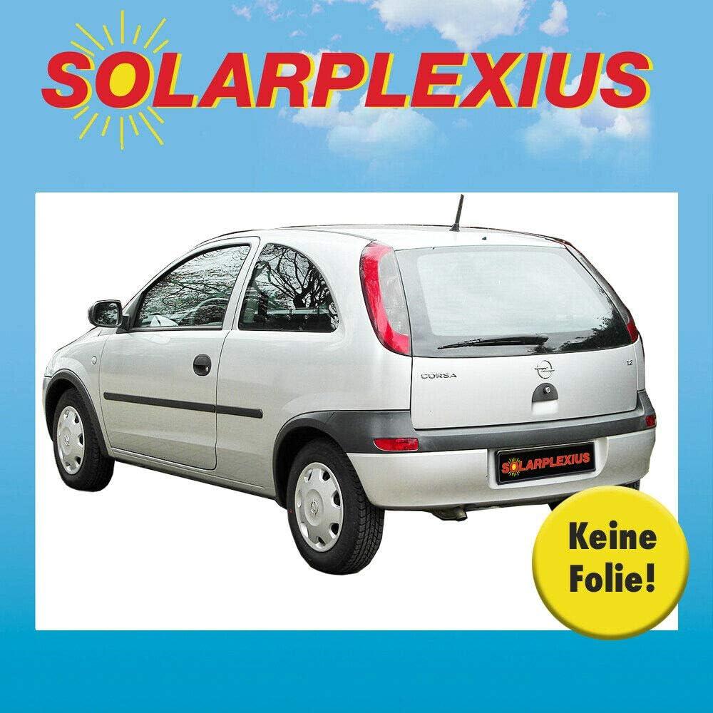 Sonnenschutz Autosonnenschutz Kinder Baby Scheiben Tönung Sichtschutz Heckscheibe Und Seitenscheiben Keine Folie Opel Corsa C 3 Türer Bj 2000 06 Auto