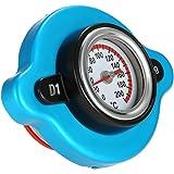KKmoon Tapón de Radiador Funda con Indicador de Temperatura de Agua para Coche Auto Acoplado de Carro de Montacargas