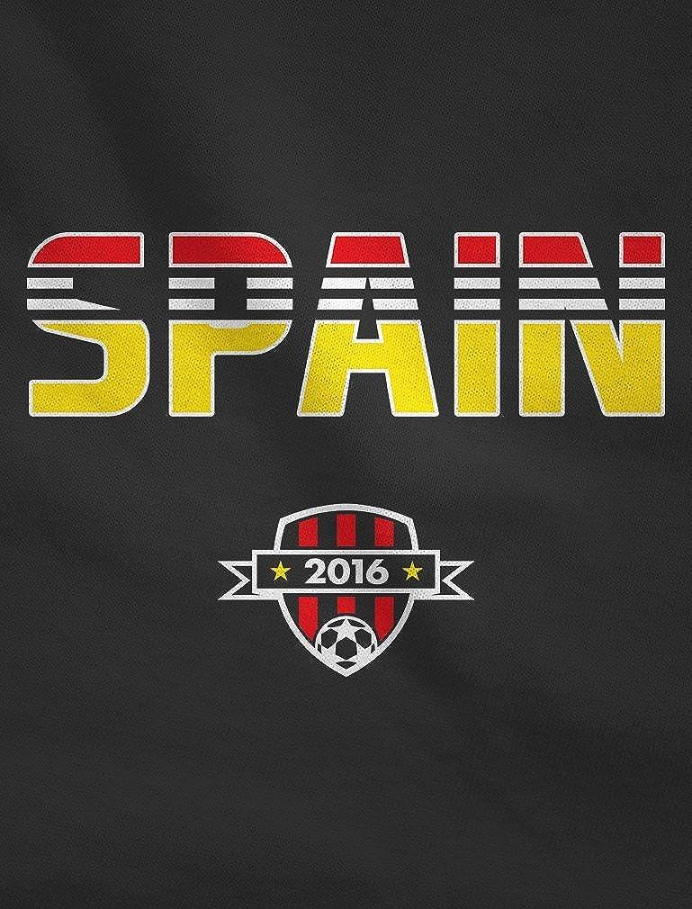 Spain Soccer//Football Team 2016 Fans Singlet TeeStars