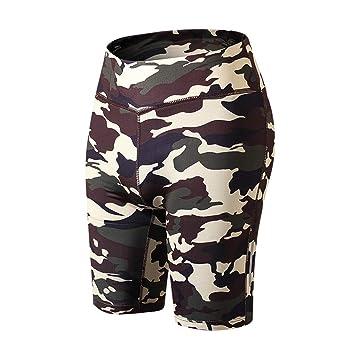 Elsta Workout Pants Damen Shorts Radlerhose Sommer Schlange