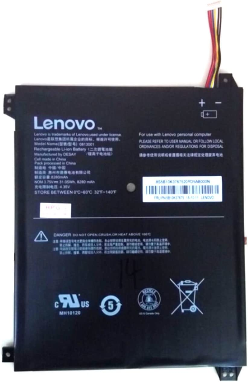 New Genuine Battery For Lenovo IdeaPad 100S 8400mAh 3.8V Li-ion 5B10K37675