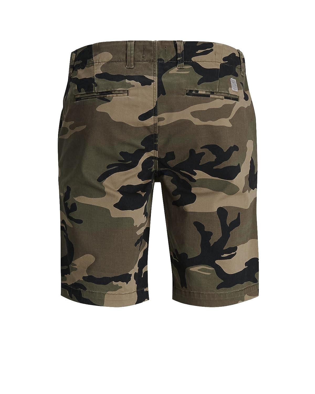 37478810688b JACK   JONES Herren Short jjiGRAHAM Chino Shorts Camouflage kurze Hose   Amazon.de  Bekleidung
