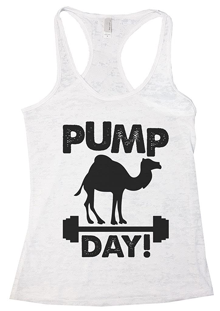Womens Funny Tank Top Hump Day Remix Pump Day Humor Shirt Funny