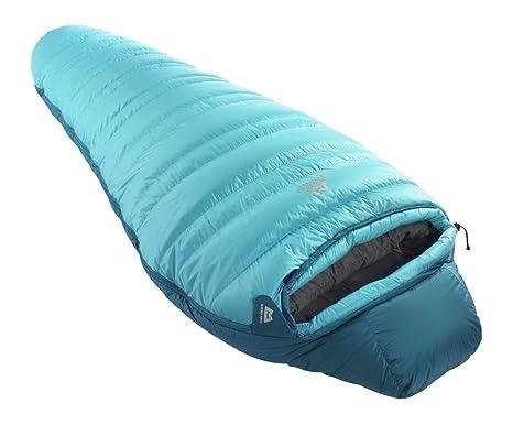 Mountain Equipment Glacier 500 - Saco de dormir para mujer azul porcelaine blue Talla:LZ: Amazon.es: Ropa y accesorios